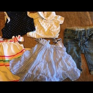 Baby Gap baby girl clothes lot